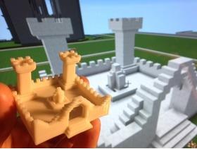 我的minecraft城堡